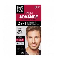 LLONGUERAS MEN ADVANCE 2 EN 1 CABELLO & BARBA-BIGOTE 5 CASTAÑO CLARO