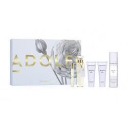 comprar perfumes online ADOLFO DOMINGUEZ AGUA FRESCA DE ROSAS EDT 120 ML + MINI 10 ML + B/L 75 ML + DEO 150 ML + GEL 75 ML SE...