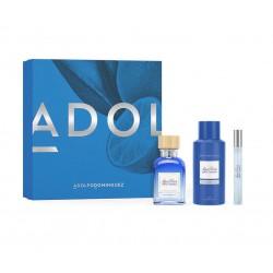 comprar perfumes online hombre ADOLFO DOMINGUEZ AGUA FRESCA LIMA TONKA EDT 120 ML + MINIATURA + DEO 150 ML SET REGALO