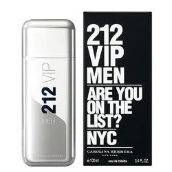 comprar perfume CAROLINA HERRERA 212 VIP MEN EDT 100 ML VP. danaperfumerias.com