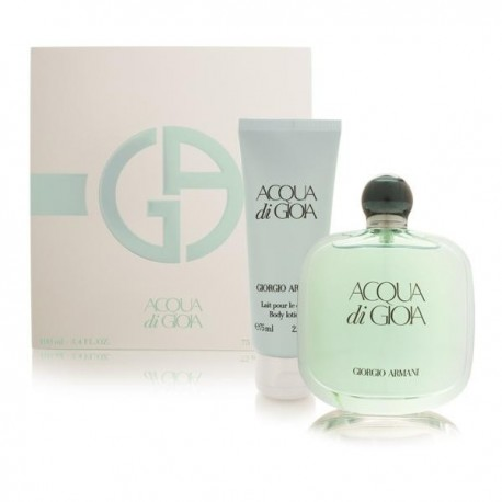 ACQUA DI GIOIA EDP 100 ML + B/ L 75 ML TRAVEL SET