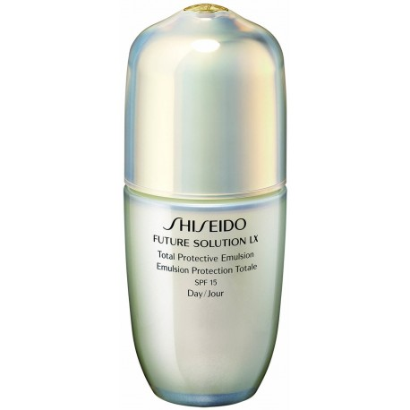 SHISEIDO FUTURE SOLUTION LX PROTECTIVE EMULSION SPF 15 75 ML