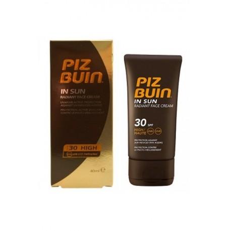 PIZ BUIN IN SUN RADIANT FACE CREAM SPF 30 40 ML