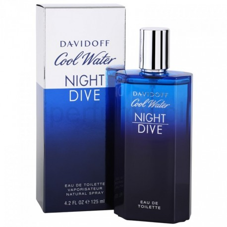 comprar perfumes online hombre DAVIDOFF COOL WATER NIGHT DIVE EDT 125 ML