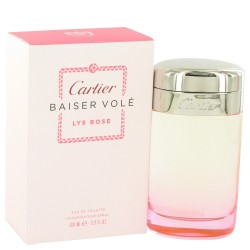 CARTIER BAISER VOLE LYS ROSE EDT 100 ML VP.