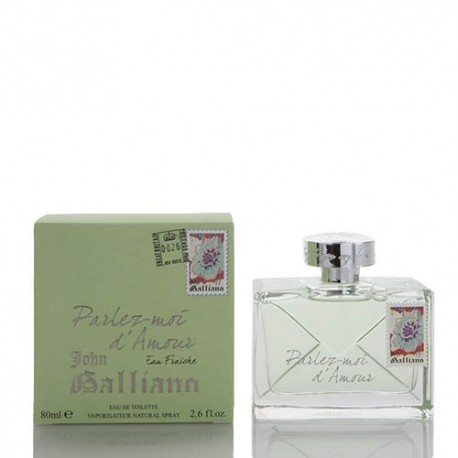 comprar perfumes online JOHN GALLIANO PARLEZ-MOI D´AMOUR EAU FRAICHE 80 ML mujer