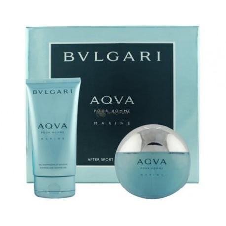 comprar perfumes online hombre BVLGARI AQVA POUR HOMME MARINE EDT 100 ML + GEL 100 ML SET