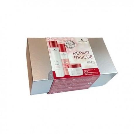 comprar acondicionador BONACURE REPAIR RESCUE (SHAMPOO 250 ML+ ACOND 200 ML + MASCARILLA 200 ML) SET