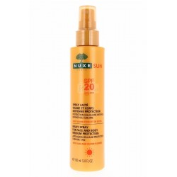 NUXE SPRAY LECHE CORPORAL SPF 20 ROSTRO Y CUERPO SPRAY 150 ML