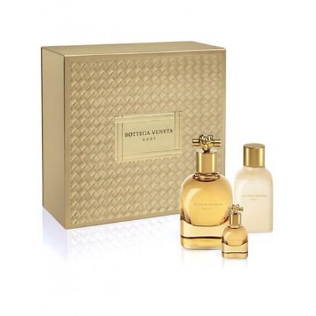 comprar perfumes online BOTTEGA VENETA KNOT EDP 75 ML + B/L 100 ML + MINI 7.5 ML SET REGALO mujer