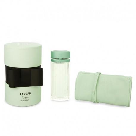 comprar perfumes online TOUS L´EAU EDT 90 ML + JOYERO TOUS SET REGALO mujer