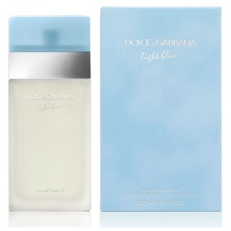 comprar perfumes online DOLCE & GABBANA LIGHT BLUE EDT 200 ML mujer