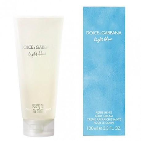 comprar perfumes online DOLCE & GABBANA LIGHT BLUE BODY CREAM 200 ML mujer