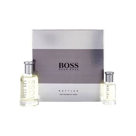 hugo boss boss bottled edt 100 ml edt 30 ml set regalo. Black Bedroom Furniture Sets. Home Design Ideas