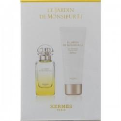 HERMES LE JARDIN DE MONSIEUR LI EDT 50 ML + B/L 75 ML SET REGALO