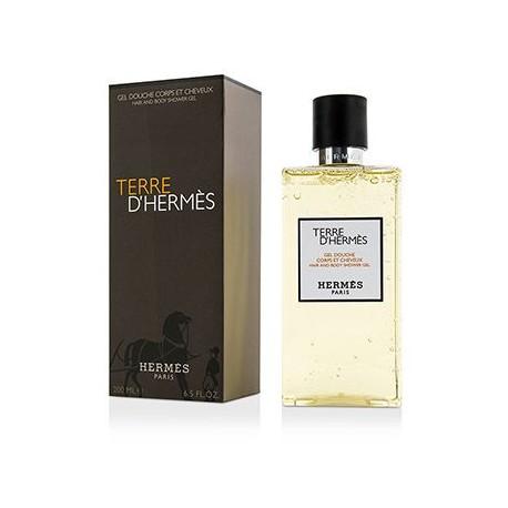 comprar perfumes online HERMES TERRE D'HERMES GEL DUCHA 200 ML