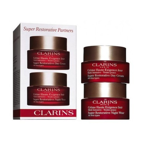 Comprar tratamientos online CLARINS SUPER RESTORATIVE REPLENISHING PARTNERS TRAVEL EXCLUSIVE
