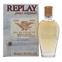 REPLAY JEANS ORIGINAL FOR HER EDT 60 ML