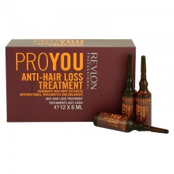 comprar acondicionador REVLON PROYOU ANTI HAIR 6 ML X 12 AMPOLLAS
