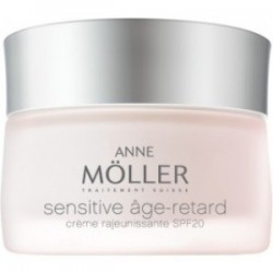 ANNE MOLLER SENSITIVE AGE RETARD CREMA REJUVENECEDORA SPF 20 PIELES MIXTAS 50 ML
