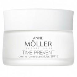 Comprar tratamientos online ANNE MOLLER TIME PREVENT CREMA LUMINOSIDAD ANTIARRUGAS 50 ML