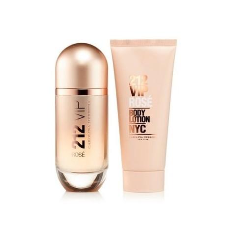 628c65ae95f Precio reducido comprar perfume CAROLINA HERRERA 212 VIP ROSE EDP 80 ML +  B/L 100 ML