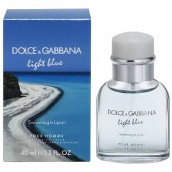 DOLCE & GABBANA LIGHT BLUE SWIMMING IN LIPARI EDT 40 ML