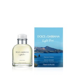 DOLCE & GABBANA LIGHT BLUE DISCOVER VULCANO EDT 75 ML VP.