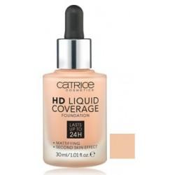 CATRICE BASE DE MAQUILLAJE HD LIQUID COVERAGE 020 ROSE BEIGE 30 ML danaperfumerias.com
