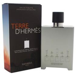 HERMES TERRE D'HERMES ED 150 ML BEL OBJET METAL REFILLABLE EDITION