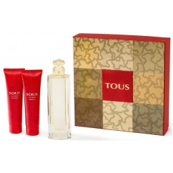 comprar perfumes online TOUS EDP 90 ML + BODY LOTION 100 ML + SHOWER GEL 100ML SET mujer