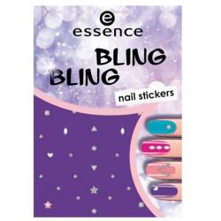 ESSENCE NAIL ART STICKERS PARA UÑAS 01 BLING BLING