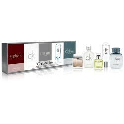 CK CALVIN KLEIN MEN MINIATURES X 5 COFFRET