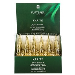 RENE FURTERER KARITE ACEITE PARA CABELLO SECO Y DAÑADO 24X10 ML