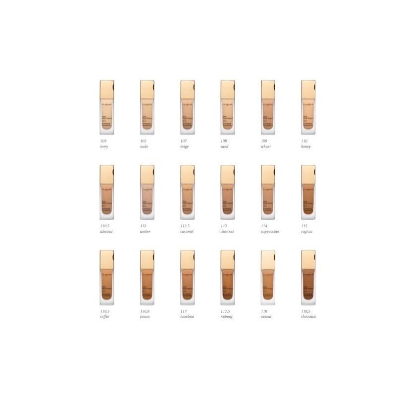 base de maquillaje clarins skin illusion