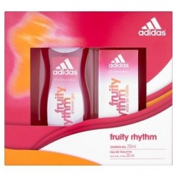 ADIDAS FRUIT RHYTHM EDT 30 ML + GEL 250 ML SET