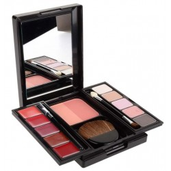 REVLON TRAVEL COLLECTION EXCLUSIVE COLORS IN BLOOM PALETA DE MAQUILLAJE 15 PIEZAS