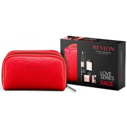 REVLON TRAVEL COLLECTION LOVE SERIES KIT DE VIAJE ROSTRO 6 PIEZAS SET REGALO