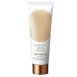SENSAI SILKY BRONZE CELLULAR PROTECTIVE CREAM FACE SPF 30 50 ML danaperfumerias.com
