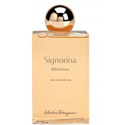 SALVATORE FERRAGAMO SIGNORINA MISTERIOSS SHOWER GEL 200 ML