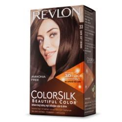 REVLON TINTE COLORSILK 33 DARK SOFT BROWN danaperfumerias.com/es/