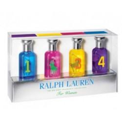 comprar perfume RALPH LAUREN BIG PONY MINIATURAS MUJER X 4 30ML SET danaperfumerias.com