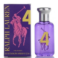 RALPH LAUREN BIG PONY 4 WOMAN PURPLE EDT 30ML VP.