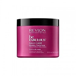 comprar acondicionador REVLON BE FABULOUS DAILY CARE NORMAL CREAM MASK 500 ML