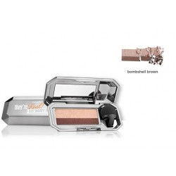 BENEFIT THEY'RE REAL DUO SHADOW BLENDER BOMBSHELL BROWN