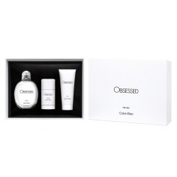comprar perfume CALVIN KLEIN OBSESSED EDT 125 ML + DEO 75 ML + S/GEL 100 ML SET REGALO danaperfumerias.com