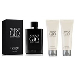 ARMANI ACQUA DI GIO PROFUMO EDP 40 ML + GEL 75 ML + BALSAMO 75 ML SET REGALO