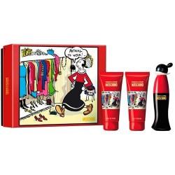 comprar perfume MOSCHINO CHEAP & CHIC SET 3 PIEZAS EDT 50ML + B/L 100ML + S/G 100ML danaperfumerias.com