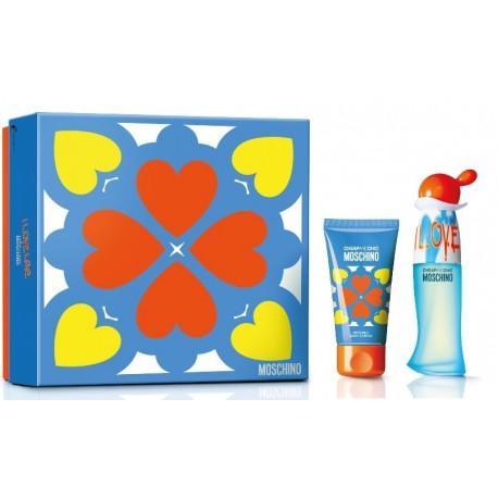 comprar perfume MOSCHINO CHEAP & CHIC I LOVE LOVE EDT 30 ML + B/L 50ML SET REGALO danaperfumerias.com