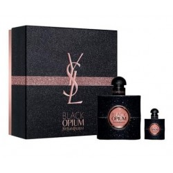 YSL BLACK OPIUM EDP 50 ML. VAPO + EDP 7.5 ML SET REGALO